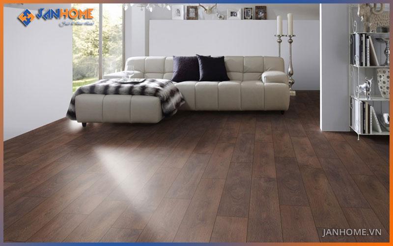 Sàn gỗ công nghiệp Thái lan có màu nấu sang trọng