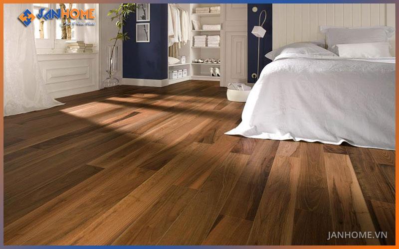 Họa tiết vân gỗ, màu sắc của sàn gỗ Thái Lan y hệt như sàn gỗ tự nhiên