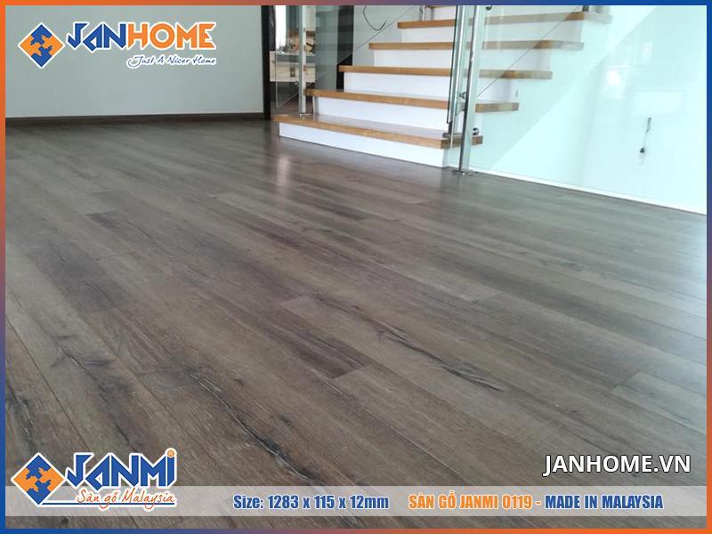 Công trình lát sàn gỗ Janmi sang trọng, đẳng cấp