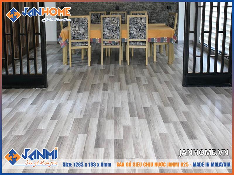 Sàn gỗ Janmi O25 mang đến trải nghiệm độc đáo mới lại cho không gian nội thất
